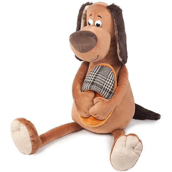Мягкая Игрушка Пес Ватсон с Тапком, 20 СмСимвол 2018 года: Собака<br>Характеристики:<br><br>• мягкая игрушка выполнена в виде собачки;<br>• символ грядущего 2018 года;<br>• высота игрушки: 20 см;<br>• состав: мех искусственный, трикотажное волокно, фурнитура из пластмассы;<br>• наполнитель: полое полиэфирное волокно, полиэтиленовые гранулы;<br>• размер упаковки: 20х9х20 см;<br>• вес: 81 г.<br><br>Мягкая игрушка Пес Ватсон – символ нового года, прекрасный подарок родным людям, коллегам по работе, друзьям. Пес Ватсон - заботливый питомец, поджидая хозяина, уже приготовил домашние тапочки. Игрушка-сувенир порадует не только малышей, но и взрослых. <br><br>Мягкую игрушку Maxitoys Пес Ватсон с Тапком, 20 см можно купить в нашем интернет-магазине.<br><br>Ширина мм: 200<br>Глубина мм: 90<br>Высота мм: 200<br>Вес г: 81<br>Возраст от месяцев: 60<br>Возраст до месяцев: 2147483647<br>Пол: Унисекс<br>Возраст: Детский<br>SKU: 7243072