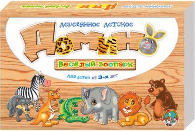 Десятое королевство Домино деревянное Веселый зоопарк