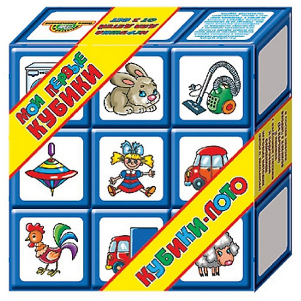 Выдувка. Кубики-лото 9 эл + книжка (8 см)Кубики<br>Характеристики:<br><br>• возраст: 3+;<br>• размер упаковки: 25,5x24,5x8,5 см;<br>• масса: 535 г.<br><br>Это очень необычное детское лото для самых маленьких. На 9 больших выдувных кубиках наклеены простые понятные рисунки из 6 разных категорий: домашние и дикие животные, овощи, игрушки, электроприборы и транспортные средства. <br><br>Малыши познакомятся с обобщающими словами и научатся объединять предметы и героев в группы, а также узнают много интересного об окружающем мире, потренируют память и внимание. <br><br>В состав набора входит книжка с методикой занятий, правилами игр, а также с веселыми стихами, потешками и загадками про все картинки набора. <br><br>Выдувка. Кубики-лото, 9 элементов + книжка (8см), «Десятое королевство» можно купить в нашем интернет-магазине.<br><br>Ширина мм: 255<br>Глубина мм: 245<br>Высота мм: 85<br>Вес г: 535<br>Возраст от месяцев: 420<br>Возраст до месяцев: 2147483647<br>Пол: Унисекс<br>Возраст: Детский<br>SKU: 7245757