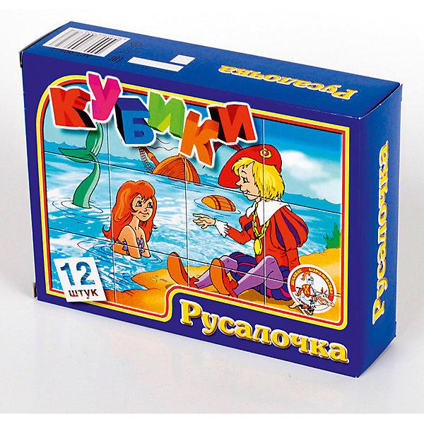 Кубики Русалочка (без обклейки) 12 штКубики<br>Характеристики:<br><br>•возраст: 3+;<br>•размер кубиков: 4 см; <br>•количество кубиков: 12 шт.;<br>• размер упаковки: 16,6x12,6x4,2 см;<br>• масса: 210 г.<br><br>Детские игровые кубики с рисунками, выполненными методом прямой печати на первичный пищевой полистирол. Яркие кубики не имеют запаха и абсолютно безопасны для малышей.<br><br>С помощью набора этих кубиков мальчики и девочки смогут собрать шесть милых картинок.<br><br>Игра развивает наблюдательность, внимание, сообразительность и способность к анализу ситуации.<br><br>Кубики «Русалочка» 12 шт, (без обклейки), «Десятое королевство» можно купить в нашем интернет-магазине.<br><br>Ширина мм: 166<br>Глубина мм: 126<br>Высота мм: 42<br>Вес г: 210<br>Возраст от месяцев: 420<br>Возраст до месяцев: 2147483647<br>Пол: Унисекс<br>Возраст: Детский<br>SKU: 7245780