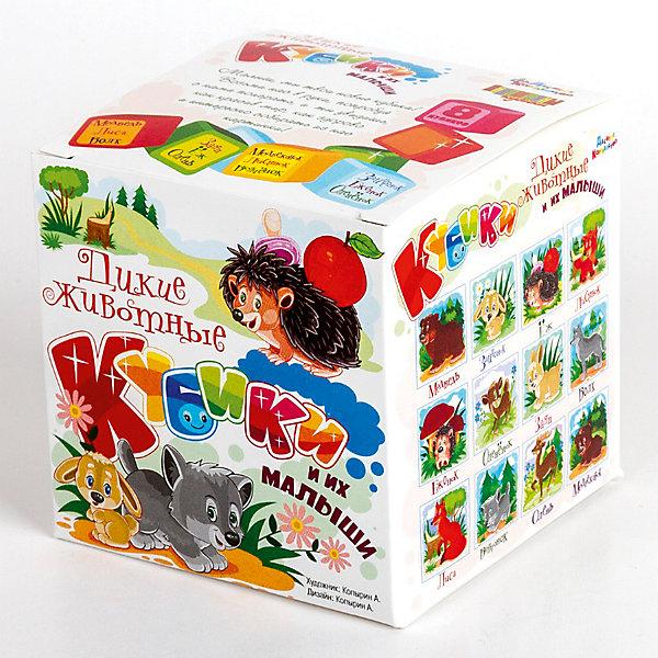 КубикиДикие животные и их малыши (без обклейки) 8 шт.Кубики<br>Характеристики:<br><br>• возраст: 3+;<br>• количество кубиков: 8 шт.;<br>• размер упаковки: 8,5x8,5x8,5 см;<br>• масса: 110 г.<br><br>Набор состоит из 8 пластмассовых кубиков-картинок с размером граней 4 см. Малышам предложено собрать 12 красочных картинок с изображениями диких животных и их детенышей.<br><br>В игре дети будут развивать внимание, память, речь, воображение, расширять кругозор и словарный запас.<br><br>Картинки в наборе пластмассовых кубиков выполнены по технологии прямой печати, поэтому изображения более долговечные, меньше подвержены абразивному износу и будут радовать сочными и яркими красками.<br><br>Кубики «Дикие животные и их малыши» (без обклейки), 8 шт., «Десятое королевство» можно купить в нашем интернет-магазине.<br><br>Ширина мм: 85<br>Глубина мм: 85<br>Высота мм: 85<br>Вес г: 110<br>Возраст от месяцев: 420<br>Возраст до месяцев: 2147483647<br>Пол: Унисекс<br>Возраст: Детский<br>SKU: 7245808