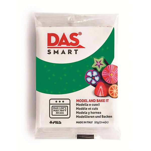 Полимерная паста для запекания DAS SMART 57 гр, зеленая с блесткамиМасса для лепки<br>DAS SMART GLITTER Полимерная паста для моделирования, 57 гр., зеленый. Каждая упаковка включает в себя две<br>индивидуально упакованных пластины. Изделия DAS SMART необходимо запекать в духовке при температуре<br>130°C в течение 30 минут. Изделия можно запекать несколько раз, добавляй декоративные<br>элементы в несколько этапов.<br><br>Ширина мм: 70<br>Глубина мм: 55<br>Высота мм: 5<br>Вес г: 0<br>Возраст от месяцев: 36<br>Возраст до месяцев: 2147483647<br>Пол: Унисекс<br>Возраст: Детский<br>SKU: 7248301