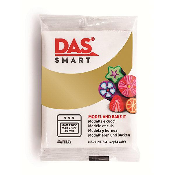 DAS SMART 57 GМасса для лепки<br>DAS SMART METALLIC Полимерная паста для моделирования, 57 гр., золотой. Каждая упаковка включает в себя две<br>индивидуально упакованных пластины. Изделия DAS SMART необходимо запекать в духовке при температуре<br>130°C в течение 30 минут. Изделия можно запекать несколько раз, добавляй декоративные<br>элементы в несколько этапов.<br>Ширина мм: 70; Глубина мм: 55; Высота мм: 5; Вес г: 0; Возраст от месяцев: 36; Возраст до месяцев: 2147483647; Пол: Унисекс; Возраст: Детский; SKU: 7248303;