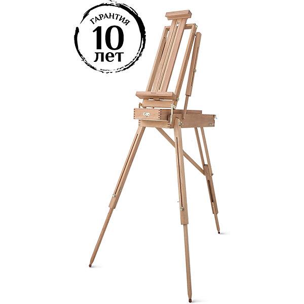 Этюдный ящик МЛ-15Мольберты<br>Характеристики товара: <br><br>• возраст: от 14 лет;<br>• материал: дерево;<br>• в комплекте: ящик, палитра, ремешок для ношения;<br>• высота: 140-180 см;<br>• ящик: 50х20х10 см;<br>• ширина полки для холста: 23 см;<br>• вес: 5,6 кг;<br>• размер упаковки: 65х61х19 см;<br>• страна производитель: Россия. <br><br>Этюдный ящик МЛ-15 Малевичъ может использоваться как в помещении, так и на улице. Регулируемые ножки позволяют подстроить его под свой рост и рисовать как стоя, так и сидя. Высота полки для холста регулируется. В ящике можно хранить все необходимые предметы для творчества: кисти, краски, лаки и многое другое. В сложенном виде может использоваться как настольный мольберт. Изготовлен из качественного натурального бука.<br><br>Этюдный ящик МЛ-15 Малевичъ можно приобрести в нашем интернет-магазине.<br><br>Ширина мм: 610<br>Глубина мм: 300<br>Высота мм: 20<br>Вес г: 5700<br>Возраст от месяцев: 168<br>Возраст до месяцев: 2147483647<br>Пол: Унисекс<br>Возраст: Детский<br>SKU: 7251021