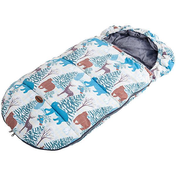 Конверт в коляску зимний мембранный Mammie, зимняя сказкаДетские конверты<br>Уютный и мягкий конверт Mammie обеспечит вашего малыша теплом и защитит от непогоды. Исключительно теплый конверт Mammie специально создан для прогулок в люльке и в прогулочной коляске в холодное время года. Конверт дублирован тактильным мехом вельбоа, который называют французским искусственным мехом за невероятно нежную и приятную на ощупь поверхность. Отверстия для пятиточечных ремней безопасности позволяют использовать конверт с большинством видов колясок. Для максимального совпадения прорезей с ремнями безопасности на спинке конверта есть подготовленные места для дополнительных прорезей, которые можно разрезать тонкими острыми ножницами с внутренней стороны конверта.Температурный режим:  до -25 градусов<br><br>Ширина мм: 200<br>Глубина мм: 300<br>Высота мм: 50<br>Вес г: 600<br>Возраст от месяцев: 0<br>Возраст до месяцев: 36<br>Пол: Унисекс<br>Возраст: Детский<br>SKU: 7252702
