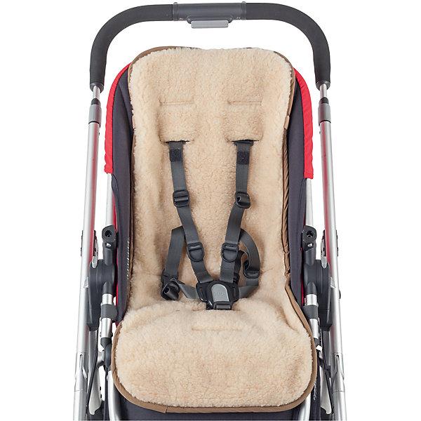 Матрасик шерстяной Mammie, экрюАксессуары для колясок<br>Двухсторонний шерстяной матрасик в коляску и автокресло. Матрасик Mammie подходит для большинства прогулочных колясок и автокресел. Одна сторона выполнена из овечьей шерсти и послужит идеальным утеплителем малышу на прогулке в холодное время года, другая сторона изготовлена из мягкой эко замши с эффектом «персика» с водоотталкивающей пропиткой, которая прекрасно подойдет для использования осенью и весной.<br><br>• имеет 8 прорезей для ремней безопасности, подходит для большинства прогулочных колясок и автокресел<br>• легко фиксируется на сидение коляски двойным креплением, надежно удерживающим матрасик от соскальзывания вниз<br>• простота в уходе — матрасик можно стирать и сушить<br><br>Ширина мм: 200<br>Глубина мм: 300<br>Высота мм: 50<br>Вес г: 300<br>Возраст от месяцев: 0<br>Возраст до месяцев: 36<br>Пол: Унисекс<br>Возраст: Детский<br>SKU: 7252711