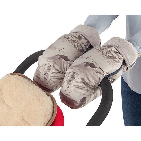 Муфта-рукавички для маминых рук Mammie, арктикАксессуары для колясок<br>Высокие и очень теплые рукавицы Mammie согреют мамины руки во время длительных прогулок с малышом. Муфта-рукавички Mammie позаботится о том, чтобы вам было комфортно прогуливаться с коляской в любую погоду. Рукавички, быстро крепятся на ручку любой коляски, как сплошную, так и двойную, а так же на санки. Для лучшей фиксации рукавички на ручку коляски трости предусмотрена петелька, расположенная на изнаночной стороне возле центральной молнии, которая не позволяет рукавице съезжать. Отворотные меховые манжеты регулируют длину рукавиц, а так же защищают от попадания снега в муфту. Дублированы мягким, приятным на ощупь мехом вельбоа, который называют французским искусственным мехом за невероятно нежную и приятную на ощупь поверхность.<br><br>Ширина мм: 100<br>Глубина мм: 200<br>Высота мм: 50<br>Вес г: 300<br>Возраст от месяцев: 192<br>Возраст до месяцев: 2147483647<br>Пол: Унисекс<br>Возраст: Детский<br>SKU: 7252715