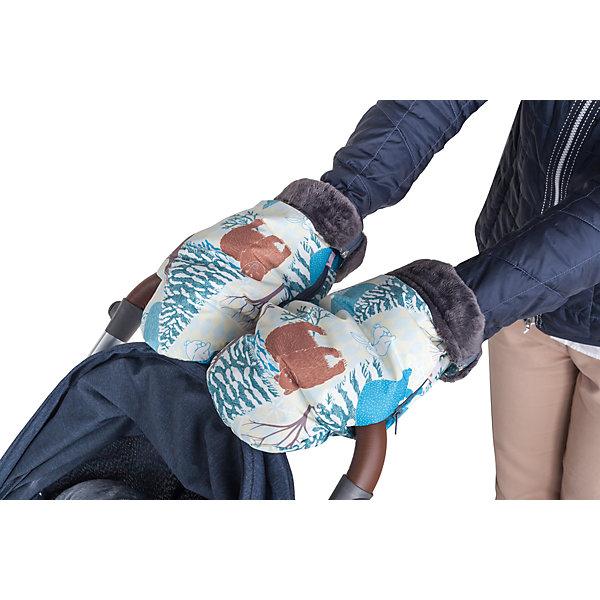 Муфта-рукавички для маминых рук Mammie, зимняя сказкаАксессуары для колясок<br>Высокие и очень теплые рукавицы Mammie согреют мамины руки во время длительных прогулок с малышом. Муфта-рукавички Mammie позаботится о том, чтобы вам было комфортно прогуливаться с коляской в любую погоду. Рукавички, быстро крепятся на ручку любой коляски, как сплошную, так и двойную, а так же на санки. Для лучшей фиксации рукавички на ручку коляски трости предусмотрена петелька, расположенная на изнаночной стороне возле центральной молнии, которая не позволяет рукавице съезжать. Отворотные меховые манжеты регулируют длину рукавиц, а так же защищают от попадания снега в муфту. Дублированы мягким, приятным на ощупь мехом вельбоа, который называют французским искусственным мехом за невероятно нежную и приятную на ощупь поверхность.<br>Ширина мм: 100; Глубина мм: 200; Высота мм: 50; Вес г: 300; Возраст от месяцев: 192; Возраст до месяцев: 2147483647; Пол: Унисекс; Возраст: Детский; SKU: 7252716;