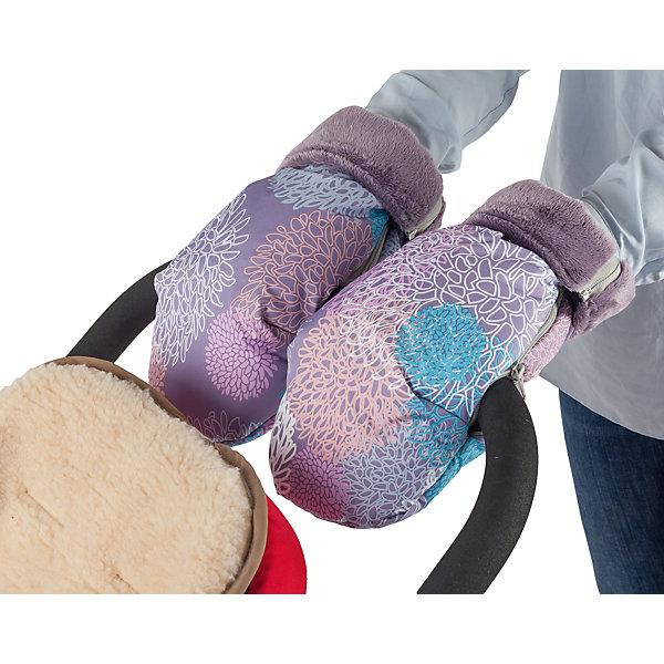 Муфта-рукавички для маминых рук Mammie, хризантемыАксессуары для колясок<br>Высокие и очень теплые рукавицы Mammie согреют мамины руки во время длительных прогулок с малышом. Муфта-рукавички Mammie позаботится о том, чтобы вам было комфортно прогуливаться с коляской в любую погоду. Рукавички, быстро крепятся на ручку любой коляски, как сплошную, так и двойную, а так же на санки. Для лучшей фиксации рукавички на ручку коляски трости предусмотрена петелька, расположенная на изнаночной стороне возле центральной молнии, которая не позволяет рукавице съезжать. Отворотные меховые манжеты регулируют длину рукавиц, а так же защищают от попадания снега в муфту. Дублированы мягким, приятным на ощупь мехом вельбоа, который называют французским искусственным мехом за невероятно нежную и приятную на ощупь поверхность.<br><br>Ширина мм: 100<br>Глубина мм: 200<br>Высота мм: 50<br>Вес г: 300<br>Возраст от месяцев: 192<br>Возраст до месяцев: 2147483647<br>Пол: Унисекс<br>Возраст: Детский<br>SKU: 7252718