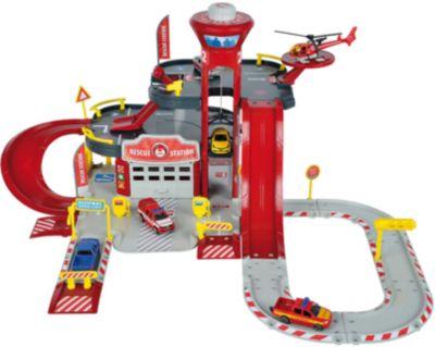 Парковка Majorette Creatix Пожарная станция, 1 машинка 1 вертолет