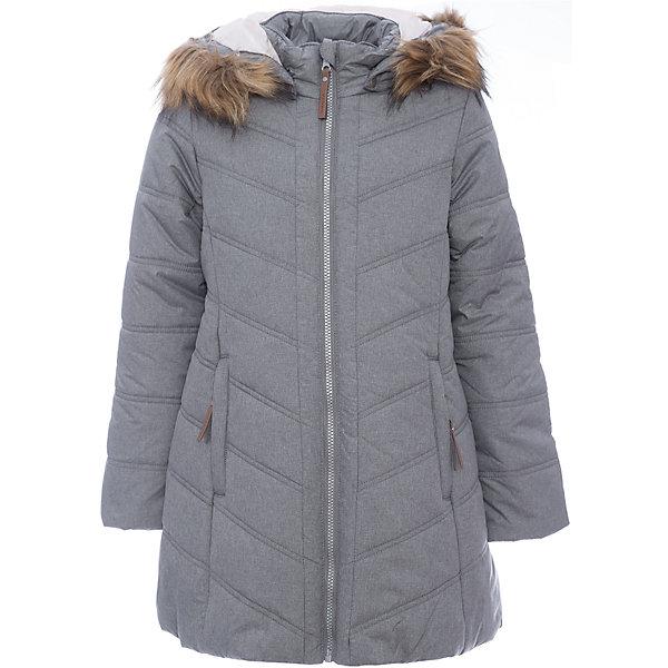 Пальто Luhta для девочкиВерхняя одежда<br>Пальто Luhta для девочки<br>Пальто для девочки с искусственным мехом, капюшон отстегивается на кнопках, ткань меланж, приталенный силуэт, имеет прострочку по всему пальто, эластичная резинка на рукавах и по подолу пальто, молния закрыта планкой с внутренней стороны, карманы на молнии. Наполнитель downmix (50% пух, 50% перо, 50% искуственный наполнитель), утепление 280 гр.<br>Состав:<br>100% Полиэстер<br><br>Ширина мм: 356<br>Глубина мм: 10<br>Высота мм: 245<br>Вес г: 519<br>Цвет: серый<br>Возраст от месяцев: 108<br>Возраст до месяцев: 120<br>Пол: Женский<br>Возраст: Детский<br>Размер: 140,146,152,158,164,134<br>SKU: 7264101