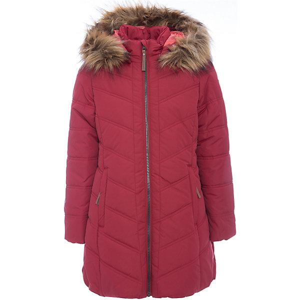 Пальто Luhta для девочкиВерхняя одежда<br>Характеристики товара:<br><br>• цвет: красный<br>• состав ткани: 100% полиэстер<br>• подкладка: 100% полиэстер<br>• утеплитель: синтепон. <br>• сезон: зима<br>• температурный режим: от -20 до -5<br>• особенности модели: с капюшоном<br>• капюшон: с мехом, съемный<br>• плотность утеплителя: 280 г/м2<br>• застежка: молния<br>• страна бренда: Финляндия<br>• страна изготовитель: Китай<br><br>Для удобства ребенка зимнее пальто снабжено ветрозащитной планкой, отстегивающимся капюшоном с опушкой. Плотный верх детского зимнего пальто легко чистить. Детское пальто легко надевается и снимается. <br><br>Пальто Luhta (Лухта) для девочки можно купить в нашем интернет-магазине.<br>Ширина мм: 356; Глубина мм: 10; Высота мм: 245; Вес г: 519; Цвет: красный; Возраст от месяцев: 96; Возраст до месяцев: 108; Пол: Женский; Возраст: Детский; Размер: 134,164,158,152,146,140; SKU: 7264108;