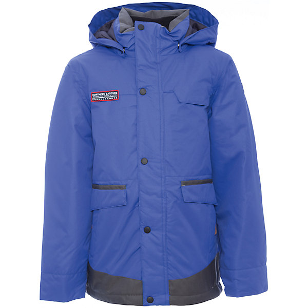 Куртка Luhta для мальчикаВерхняя одежда<br>Характеристики товара:<br><br>• цвет: синий<br>• состав ткани: 100% полиэстер<br>• подкладка: 100% полиэстер<br>• утеплитель: 100% полиэстер<br>• сезон: зима<br>• температурный режим: от -20 до +5<br>• особенности модели: с капюшоном<br>• капюшон: съемный, без меха<br>• плотность утеплителя: 260 г/м2<br>• застежка: молния<br>• страна бренда: Финляндия<br>• страна изготовитель: Китай<br><br>Эта зимняя куртка усилена износостойкими накладками, она дополнена удобными деталями - молния закрыта планкой, рукав заканчивается эластичной резинкой, утяжка по подолу куртки. Эта теплая куртка для мальчика снабжена капюшоном. Практичная детская куртка отлично подойдет для зимних морозов.<br><br>Куртку Luhta (Лухта) для мальчика можно купить в нашем интернет-магазине.<br><br>Ширина мм: 356<br>Глубина мм: 10<br>Высота мм: 245<br>Вес г: 519<br>Цвет: синий<br>Возраст от месяцев: 156<br>Возраст до месяцев: 168<br>Пол: Мужской<br>Возраст: Детский<br>Размер: 164,134,140,146,152,158<br>SKU: 7264115