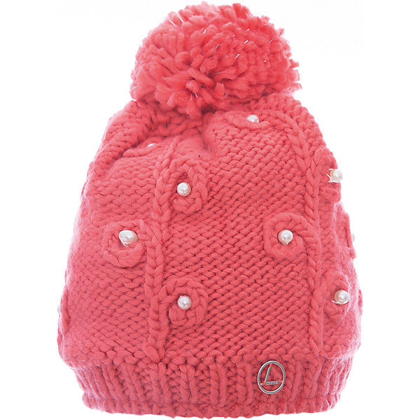 Шапка Luhta для девочкиГоловные уборы<br>Характеристики товара:<br><br>• цвет: розовый<br>• состав: 100% акрил<br>• подкладка: 100% полиэстер, флис<br>• сезон: демисезон<br>• декор: помпон, бусины<br>• страна бренда: Финляндия<br>• страна изготовитель: Китай<br><br>Розовая шапка для ребенка дополнена мягкой флисовой подкладкой. Теплая шапка для девочки мягко сидит на голове благодаря эластичному трикотажу. Детская шапка декорирована пушистым помпоном. <br><br>Шапку Luhta (Лухта) для девочки можно купить в нашем интернет-магазине.<br>Ширина мм: 88; Глубина мм: 155; Высота мм: 26; Вес г: 106; Цвет: розовый; Возраст от месяцев: 48; Возраст до месяцев: 60; Пол: Женский; Возраст: Детский; Размер: 52; SKU: 7264145;