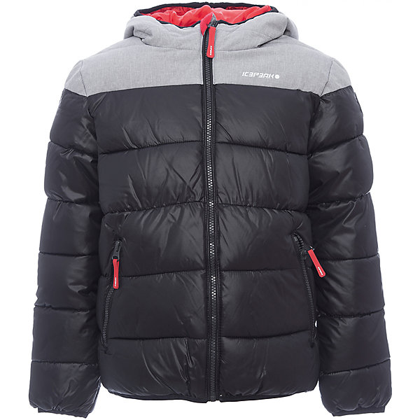 Куртка ICEPEAK для мальчикаВерхняя одежда<br>Характеристики товара:  <br><br>• цвет: серый;<br>• состав ткани: 100% полиэстер; <br>• подкладка: 100% полиэстер;<br>• утеплитель: 100% полиэстер, искусственный пух; <br>• сезон: зима;<br>• температурный режим: от -20 до +5;<br>• особенности модели: с капюшоном, стеганая;<br>• капюшон: несъемный;<br>• плотность утеплителя: 200/120 г/м2; <br>• застежка: молния;<br>• страна бренда: Финляндия;<br>• страна изготовитель: Китай .<br><br>Теплая детская куртка отлично подойдет для зимних морозов. Зимняя куртка дополнена удобными деталями - молния закрыта планкой, есть карманы. Эта теплая куртка для мальчика снабжена капюшоном.   Куртку Icepeak (Айспик) для мальчика можно купить в нашем интернет-магазине.<br>Ширина мм: 356; Глубина мм: 10; Высота мм: 245; Вес г: 519; Цвет: светло-серый; Возраст от месяцев: 84; Возраст до месяцев: 96; Пол: Мужской; Возраст: Детский; Размер: 128,176,164,152,140; SKU: 7264194;