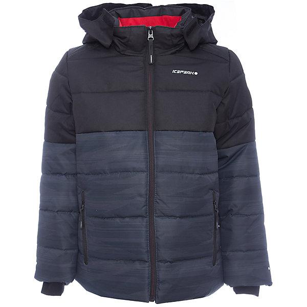 Куртка ICEPEAK для мальчикаВерхняя одежда<br>Характеристики товара:<br><br>• цвет: серый<br>• состав ткани: 100% полиэстер<br>• подкладка: 100% полиэстер<br>• утеплитель: 100% полиэстер<br>• сезон: зима<br>• температурный режим: от -25 до 0<br>• особенности модели: с капюшоном, стеганая<br>• капюшон: съемный<br>• плотность утеплителя: 220 г/м2<br>• застежка: молния<br>• страна бренда: Финляндия<br>• страна изготовитель: Китай<br><br>Теплая детская куртка отлично подойдет для зимних морозов. Зимняя куртка дополнена удобными деталями - молния закрыта планкой, есть карманы. Эта теплая куртка для мальчика снабжена капюшоном. <br><br>Куртку Luhta (Лухта) для мальчика можно купить в нашем интернет-магазине.<br><br>Ширина мм: 356<br>Глубина мм: 10<br>Высота мм: 245<br>Вес г: 519<br>Цвет: серый<br>Возраст от месяцев: 180<br>Возраст до месяцев: 192<br>Пол: Мужской<br>Возраст: Детский<br>Размер: 176,128,140,152,164<br>SKU: 7264212