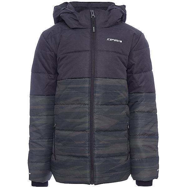 Куртка ICEPEAK для мальчикаВерхняя одежда<br>Характеристики товара:  <br><br>• цвет: хаки; <br>• состав ткани: 100% полиэстер;<br>• подкладка: 100% полиэстер;<br>• утеплитель: 100% полиэстер;<br>• сезон: зима;<br>• температурный режим: от -25 до 0;<br>• особенности модели: с капюшоном, стеганая;<br>• капюшон: съемный;<br>• плотность утеплителя: 220 г/м2;<br>• застежка: молния;<br>• страна бренда: Финляндия;<br>• комфорт и качество. <br><br>Эта зимняя куртка дополнена удобными деталями - молния закрыта планкой, есть карманы и капюшон. Обеспечить ребенку тепло и комфорт в морозы поможет такая куртка для мальчика. Практичная детская куртка отлично подойдет для зимних морозов.  <br><br>Куртку Icepeak (Айспик) для мальчика можно купить в нашем интернет-магазине.<br>Ширина мм: 356; Глубина мм: 10; Высота мм: 245; Вес г: 519; Цвет: хаки; Возраст от месяцев: 84; Возраст до месяцев: 96; Пол: Мужской; Возраст: Детский; Размер: 128,176,164,152,140; SKU: 7264218;