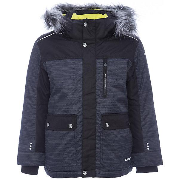 Парка ICEPEAK для мальчикаВерхняя одежда<br>Характеристики товара: <br><br>• цвет: серый;<br>• состав ткани: 100% полиэстер;<br>• подкладка: 100% полиэстер;<br>• утеплитель: 100% полиэстер; <br>• сезон: зима;<br>• температурный режим: от -15 до 0;<br>• особенности модели: с капюшоном; <br>• капюшон: несъемный;<br>• плотность утеплителя: 240/200 г/м2;<br>• застежка: молния;<br>• страна бренда: Финляндия;<br>• комфорт и качество. <br><br>Практичная детская парка выполнена в модном универсальном цвете. Зимняя куртка дополнена удобными деталями - молния закрыта планкой, утяжка по подолу куртки. Эта теплая парка для мальчика снабжена капюшоном.   <br><br>Парку Icepeak (Айспик) для мальчика можно купить в нашем интернет-магазине.<br>Ширина мм: 356; Глубина мм: 10; Высота мм: 245; Вес г: 519; Цвет: серый; Возраст от месяцев: 84; Возраст до месяцев: 96; Пол: Мужской; Возраст: Детский; Размер: 128,176,164,152,140; SKU: 7264224;
