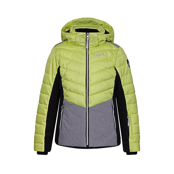 Куртка ICEPEAK для девочкиВерхняя одежда<br>Характеристики товара:  <br><br>• цвет: зеленый;<br>• состав ткани: 100% полиэстер;<br>• подкладка: 100% полиэстер;<br>• утеплитель: 100% полиэстер; <br>• сезон: зима;<br>• температурный режим: от -25 до +5;<br>• особенности модели: с капюшоном; <br>• капюшон: съемный;<br>• плотность утеплителя: 200/115 г/м2;<br>• застежка: молния;<br>• страна бренда: Финляндия;<br>• страна изготовитель: Китай.<br><br>Такая теплая детская куртка отлично подойдет для зимних морозов. Зимняя куртка дополнена удобными деталями - молния закрыта планкой, есть карманы. Эта теплая куртка для девочки снабжена капюшоном.   <br><br>Куртку Icepeak (Айспик) для девочки можно купить в нашем интернет-магазине.<br>Ширина мм: 356; Глубина мм: 10; Высота мм: 245; Вес г: 519; Цвет: светло-зеленый; Возраст от месяцев: 132; Возраст до месяцев: 144; Пол: Женский; Возраст: Детский; Размер: 152,128,164,140,176; SKU: 7264249;