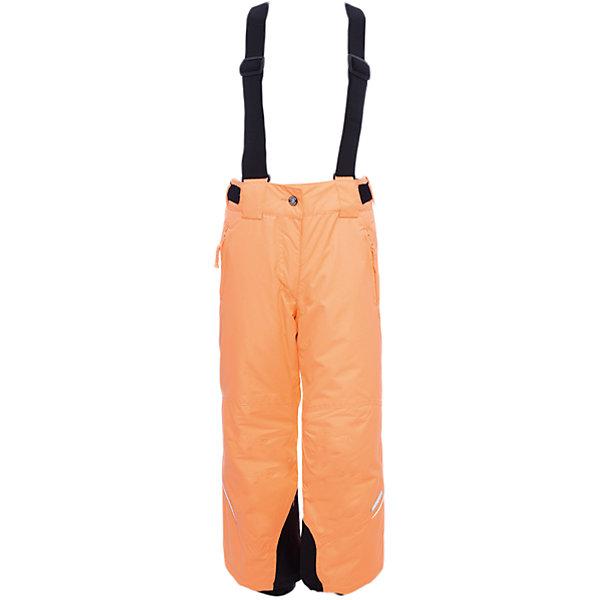 Брюки ICEPEAK для девочкиВерхняя одежда<br>Характеристики товара:<br><br>• цвет: оранжевый<br>• состав ткани: 100% полиэстер<br>• подкладка: 100% полиэстер<br>• утеплитель: 100% полиэстер<br>• сезон: зима<br>• температурный режим: от -15 до +5<br>• плотность утеплителя: 80 г/м2<br>• застежка: молния<br>• лямки: отстегиваются<br>• страна бренда: Финляндия<br>• страна изготовитель: Китай<br><br>Такие детские брюки отлично подойдут для зимних морозов. Зимние брюки - с регулируемыми лямки, усилены износостойкими накладками. Эти теплые брюки для девочки снабжены удобной молнией. <br><br>Брюки Luhta (Лухта) для девочки можно купить в нашем интернет-магазине.<br><br>Ширина мм: 215<br>Глубина мм: 88<br>Высота мм: 191<br>Вес г: 336<br>Цвет: оранжевый<br>Возраст от месяцев: 60<br>Возраст до месяцев: 72<br>Пол: Женский<br>Возраст: Детский<br>Размер: 116,176,164,152,140,128<br>SKU: 7264267
