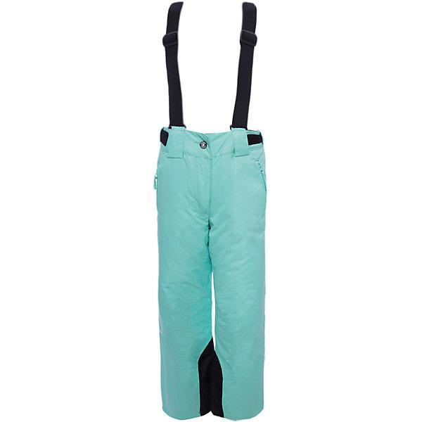 Брюки ICEPEAK для девочкиВерхняя одежда<br>Характеристики товара:<br><br>• цвет: зеленый<br>• состав ткани: 100% полиэстер<br>• подкладка: 100% полиэстер<br>• утеплитель: 100% полиэстер<br>• мембрана: 10 000/5000;<br>• сезон: зима<br>• температурный режим: от -15 до +5<br>• плотность утеплителя: 80 г/м2<br>• застежка: молния<br>• лямки: отстегиваются<br>• страна бренда: Финляндия<br>• страна изготовитель: Китай<br><br>Плотный верх детских зимних брюк легко чистить. Эти детские брюки легко надеваются и снимаются. Для удобства ребенка зимние брюки снабжены регулирующимися лямками. <br><br>Брюки Luhta (Лухта) для девочки можно купить в нашем интернет-магазине.<br><br>Ширина мм: 215<br>Глубина мм: 88<br>Высота мм: 191<br>Вес г: 336<br>Цвет: светло-зеленый<br>Возраст от месяцев: 108<br>Возраст до месяцев: 120<br>Пол: Женский<br>Возраст: Детский<br>Размер: 140,128,116,176,164,152<br>SKU: 7264274