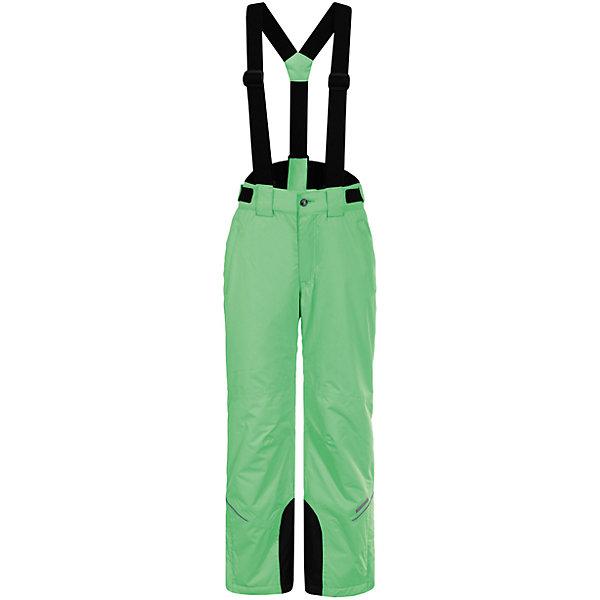 Брюки ICEPEAK для мальчикаВерхняя одежда<br>Характеристики товара:<br><br>• цвет: зеленый<br>• состав ткани: 100% полиэстер<br>• подкладка: 100% полиэстер<br>• утеплитель: 100% полиэстер<br>• сезон: зима<br>• температурный режим: от -15 до +5<br>• плотность утеплителя: 80 г/м2<br>• застежка: молния<br>• лямки: отстегиваются<br>• страна бренда: Финляндия<br>• страна изготовитель: Китай<br><br>Наслаждаться зимними развлечениями помогут детские брюки. Зимние брюки - с регулируемыми лямки, усилены износостойкими накладками. Эти теплые брюки для мальчика снабжены удобной молнией. <br><br>Брюки Luhta (Лухта) для мальчика можно купить в нашем интернет-магазине.<br><br>Ширина мм: 215<br>Глубина мм: 88<br>Высота мм: 191<br>Вес г: 336<br>Цвет: зеленый<br>Возраст от месяцев: 60<br>Возраст до месяцев: 72<br>Пол: Мужской<br>Возраст: Детский<br>Размер: 116,176,164,152,140,128<br>SKU: 7264281
