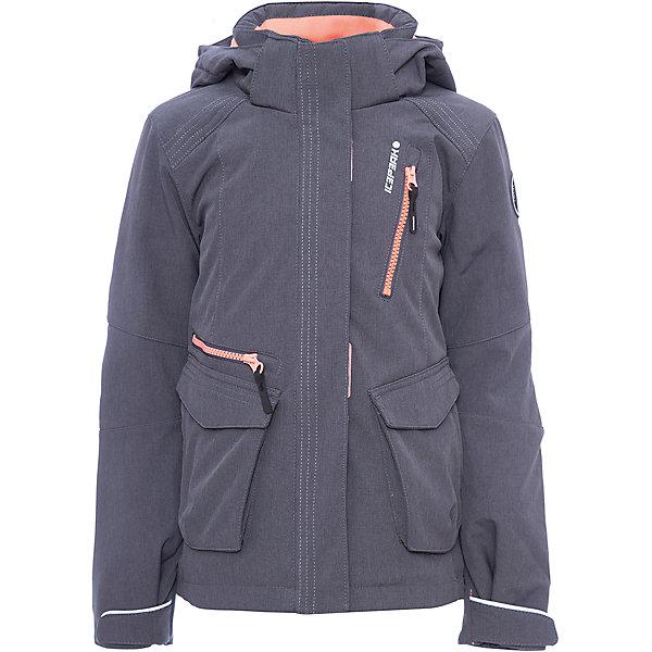 Куртка ICEPEAK для девочкиВерхняя одежда<br>Характеристики товара:  <br><br>• цвет: серый;<br>• состав ткани: 92% полиэстер, 8% эластан, софтшел;<br>• сезон: демисезон;<br>• температурный режим: от -10 до +5;<br>• особенности модели: с капюшоном;<br>• капюшон: съемный; <br>• плотность: 80 г/м2;<br>• застежка: молния;<br>• страна бренда: Финляндия;<br>• страна изготовитель: Китай. <br><br>Такая теплая детская куртка отлично подойдет для прохладной погоды межсезонья. Модная куртка дополнена удобными деталями - молния закрыта планкой, есть карманы. Эта теплая куртка для девочки снабжена капюшоном.   <br><br>Куртку Icepeak (Айспик) для девочки можно купить в нашем интернет-магазине.<br>Ширина мм: 356; Глубина мм: 10; Высота мм: 245; Вес г: 519; Цвет: серый; Возраст от месяцев: 180; Возраст до месяцев: 192; Пол: Женский; Возраст: Детский; Размер: 176,152,140,128,164; SKU: 7264371;