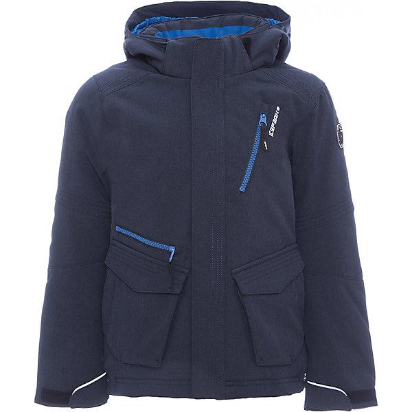 Куртка ICEPEAK для мальчикаВерхняя одежда<br>Характеристики товара:  <br><br>• цвет: синий;<br>• состав ткани: 92% полиэстер, 8% эластан, софтшел;<br>• сезон: демисезон;<br>• температурный режим: от -10 до +5;<br>• особенности модели: с капюшоном; <br>• капюшон: съемный;<br>• плотность: 80 г/м2;<br>• застежка: молния;<br>• страна бренда: Финляндия;<br>• страна изготовитель: Китай. <br><br>Эта детская дополнена удобными деталями - молния закрыта планкой, есть карманы и капюшон. Обеспечить ребенку тепло и комфорт в прохладную погоду поможет такая куртка для девочки. Практичная детская куртка отлично подойдет для межсезонья.  <br><br>Куртку Icepeak (Айспик) для мальчика можно купить в нашем интернет-магазине.<br>Ширина мм: 356; Глубина мм: 10; Высота мм: 245; Вес г: 519; Цвет: темно-синий; Возраст от месяцев: 84; Возраст до месяцев: 96; Пол: Мужской; Возраст: Детский; Размер: 128,140,152,164,176; SKU: 7264377;