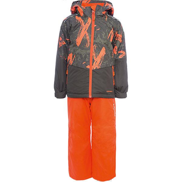 Комплект: куртка и брюки ICEPEAK для мальчикаВерхняя одежда<br>Характеристики товара:  <br><br>• цвет: зеленый;<br>• комплектация: куртка и полукомбинезон;<br>• состав ткани: 100% полиэстер;<br>• подкладка: 100% полиэстер;<br>• утеплитель: 100% полиэстер; <br>• сезон: зима;<br>• температурный режим: от -25 до 0;<br>• особенности модели: с капюшоном; <br>• плотность утеплителя: 160/100 г/м2;<br>• капюшон: без меха, съемный;<br>• застежка: молния;<br>• страна бренда: Финляндия;<br>• страна изготовитель: Китай. <br><br>Зимняя куртка и брюки для ребенка отличаются небольшим весом и удобством. Этот детский комплект для зимы от известного финского бренда Icepeak стильный и теплый. Комплект для мальчика дополнен карманами, лямками, износотойкими накладками и капюшоном.   <br><br>Комплект: куртка и полукомбинезон Icepeak (Айспик) для мальчика можно купить в нашем интернет-магазине.<br>Ширина мм: 356; Глубина мм: 10; Высота мм: 245; Вес г: 519; Цвет: зеленый; Возраст от месяцев: 180; Возраст до месяцев: 192; Пол: Мужской; Возраст: Детский; Размер: 176,116,128,140,152,164; SKU: 7264460;