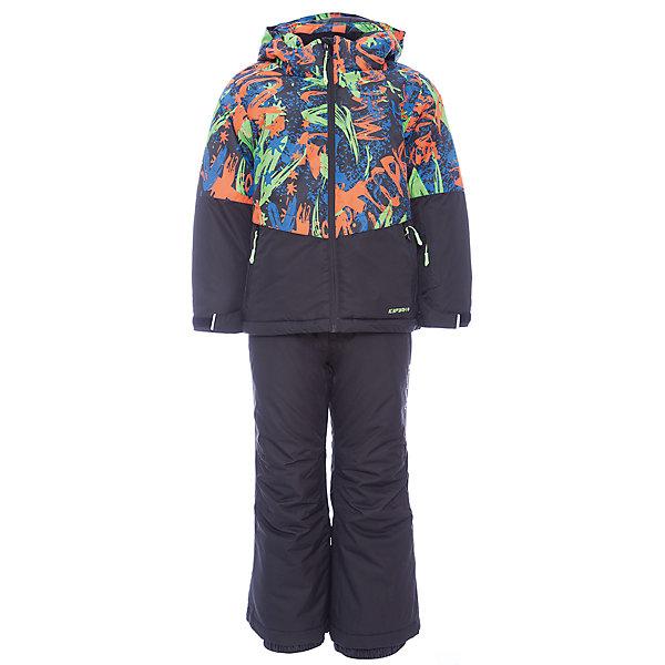 Комплект: куртка и брюки ICEPEAK для мальчикаВерхняя одежда<br>Характеристики товара:  <br><br>• цвет: черный;<br>• комплектация: куртка и полукомбинезон ;<br>• состав ткани: 100% полиэстер;<br>• подкладка: 100% полиэстер;<br>• утеплитель: 100% полиэстер; <br>• сезон: зима;<br>• температурный режим: от -25 до 0;<br>• особенности модели: с капюшоном; <br>• плотность утеплителя: 160/100 г/м2;<br>• капюшон: без меха, съемный;<br>• застежка: молния;<br>• страна бренда: Финляндия;<br>• страна изготовитель: Китай. <br><br>В теплом комплекте для ребенка дети могут наслаждаться зимой, не боясь замерзнуть. Такой детский комплект от известного финского бренда Icepeak состоит из удобной куртки и теплого полукомбинезона. <br><br>Комплект для мальчика дополнен различными функциональными деталями.   Комплект: куртка и полукомбинезон Icepeak (Айспик) для мальчика можно купить в нашем интернет-магазине.<br>Ширина мм: 356; Глубина мм: 10; Высота мм: 245; Вес г: 519; Цвет: черный; Возраст от месяцев: 156; Возраст до месяцев: 168; Пол: Мужской; Возраст: Детский; Размер: 164,176,152,140,128,116; SKU: 7264467;