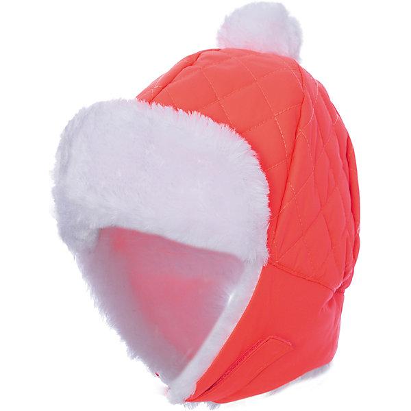 Шапка ICEPEAK для мальчикаГоловные уборы<br>Характеристики товара:  • цвет: розовый • состав: 100% полиэстер • подкладка: 100% полиэстер, флис • сезон: зима • застежка: липучка • страна бренда: Финляндия • страна изготовитель: Китай  Детская шапка декорирована помпоном и искусственным мехом. Теплая шапка для ребенка дополнена мягкой флисовой подкладкой. Такая шапка для ребенка мягко сидит на голове благодаря качественному материалу.   Шапку Icepeak (Айспик) можно купить в нашем интернет-магазине.<br><br>Ширина мм: 88<br>Глубина мм: 155<br>Высота мм: 26<br>Вес г: 106<br>Цвет: розовый<br>Возраст от месяцев: 24<br>Возраст до месяцев: 36<br>Пол: Мужской<br>Возраст: Детский<br>Размер: 52,50<br>SKU: 7264477