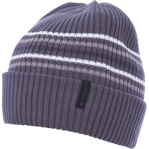 Шапка ICEPEAK для мальчикаГоловные уборы<br>Характеристики товара:  <br><br>• цвет: серый; <br>• состав: 100% хлопок;<br>• сезон: демисезон;<br>• страна бренда: Финляндия;<br>• страна изготовитель: Китай. <br><br>Детская шапка декорирована вывязанными полосками. Легкая шапка для ребенка дополнена логотипом. Такая шапка для мальчика мягко сидит на голове благодаря качественному материалу. <br>  <br>Шапку Icepeak (Айспик) для мальчика можно купить в нашем интернет-магазине.<br>Ширина мм: 88; Глубина мм: 155; Высота мм: 26; Вес г: 106; Цвет: серый; Возраст от месяцев: 72; Возраст до месяцев: 120; Пол: Мужской; Возраст: Детский; Размер: 54-56; SKU: 7264486;