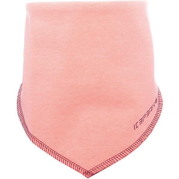 Шарф ICEPEAK для мальчикаШарфы, платки<br>Характеристики товара:<br><br>• цвет: розовый<br>• состав: 100% хлопок<br>• сезон: демисезон<br>• застежка: липучка<br>• страна бренда: Финляндия<br>• страна изготовитель: Китай<br><br>Оригинальный детский шарф легко надевается благодаря липучкам. Мягкий шарф для ребенка дополнен логотипом. Такой шарф для детей мягко сидит на шее благодаря качественному материалу. <br><br>Шарф Luhta (Лухта) можно купить в нашем интернет-магазине.<br><br>Ширина мм: 88<br>Глубина мм: 155<br>Высота мм: 26<br>Вес г: 106<br>Цвет: розовый<br>Возраст от месяцев: 84<br>Возраст до месяцев: 1188<br>Пол: Мужской<br>Возраст: Детский<br>Размер: one size<br>SKU: 7264536