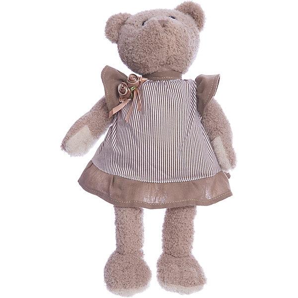 Мягкая игрушка Angel Collection Мишка Машенька в сером, 23 смБренды кукол<br>Характеристики:<br><br>• возраст: от 3 лет<br>• высота: 23 см.<br>• материал: искусственный мех, трикотаж, пластмасса<br>• наполнитель: полиэфирное волокно, полиэтиленовые гранулы<br>• уход: допускается ручная стирка при температуре 30 градусов<br><br>Обворожительная модница - мишка Машенька понравится и детям, и взрослым. Игрушка очень мягкая и приятная на ощупь. Машенька одета в стильное платьице, украшенное бантом.<br><br>Игрушка изготовлена из искусственного меха и трикотажа, фурнитура выполнена из пластмассы. Наполнитель - полиэфирное волокно и полиэтиленовые гранулы.<br><br>Мишку Машенька 23см в сером можно купить в нашем интернет-магазине.<br><br>Ширина мм: 160<br>Глубина мм: 80<br>Высота мм: 230<br>Вес г: 200<br>Возраст от месяцев: 36<br>Возраст до месяцев: 2147483647<br>Пол: Женский<br>Возраст: Детский<br>SKU: 7265488