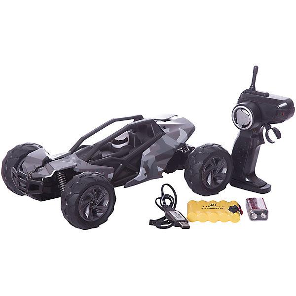 Радиоуправляемая машинка Пламенный мотор Багги ПМ 007, хакиРадиоуправляемые машины<br>Характеристики товара:<br><br>• возраст: от 3 лет;<br>• материал: пластик;<br>• в комплекте: машина, пульт;<br>• тип батареек: 1 крона 9V (для пульта);<br>• наличие батареек: входят в комплект;<br>• масштаб машины: 1:14;<br>• диаметр колес: 77 мм;<br>• клиренс: 28 мм;<br>• размер машины: 31х19х13 см;<br>• радиус действия пульта: 30 м;<br>• время работы: 15-20 минут;<br>• время зарядки аккумулятора: 4 часа;<br>• размер упаковки: 43х22х21 см;<br>• вес упаковки: 1,4 кг;<br>• страна производитель: Китай.<br><br>Радиоуправляемая машина «Багги» серая - увлекательная игрушка на радиоуправлении, которая умеет ездить в разных направлениях. Машинка способна достигать скорости до 15 км/час. Благодаря большим колесам она ездит по пересеченной местности, грунту, преодолевает препятствия. Передние и задние амортизаторы защищают кузов от повреждений и тряски. Машинка может использоваться для игр как дома, так и на улице.Радиоуправляемую машину «Багги» серую можно приобрести в нашем интернет-магазине.<br><br>Ширина мм: 310<br>Глубина мм: 190<br>Высота мм: 130<br>Вес г: 1400<br>Возраст от месяцев: 36<br>Возраст до месяцев: 2147483647<br>Пол: Мужской<br>Возраст: Детский<br>SKU: 7265496