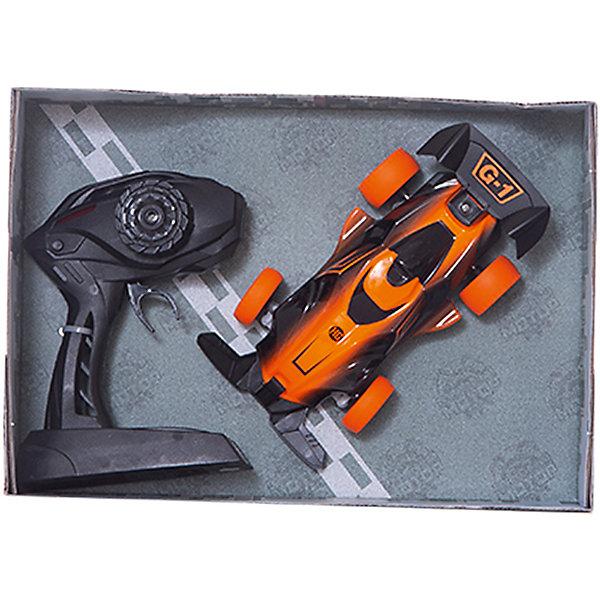 Радиоуправляемая машинка Пламенный мотор Болид ПМ 100, оранжеваяРадиоуправляемые машины<br>Характеристики товара:<br><br>• возраст: от 3 лет;<br>• материал: пластик;<br>• в комплекте: машина, пульт;<br>• тип батареек: 2 батарейки АА (для пульта), 3 батарейки ААА (для аккумулятора);<br>• наличие батареек: входят в комплект для аккумулятора, не входят в комплект для пульта;<br>• масштаб машины: 1:20;<br>• диаметр колес: 30 мм;<br>• клиренс: 4 мм;<br>• радиус действия пульта: 40 м;<br>• время работы: 15-20 минут;<br>• время зарядки аккумулятора: 4 часа;<br>• размер упаковки: 17х9х5 см см;<br>• вес упаковки: 460 гр.;<br>• страна производитель: Китай.<br><br>Радиоуправляемая машина «Болид» оранжевая - увлекательная игрушка на радиоуправлении, которая умеет ездить в разных направлениях. Машинка способна достигать скорости до 10 км/час. Машинка оснащена задним приводом. Большой радиус действия пульта управления позволяет использовать ее не только дома, но и на улице.Радиоуправляемую машину «Болид» оранжевую можно приобрести в нашем интернет-магазине.<br>Ширина мм: 170; Глубина мм: 90; Высота мм: 50; Вес г: 460; Возраст от месяцев: 36; Возраст до месяцев: 2147483647; Пол: Мужской; Возраст: Детский; SKU: 7265497;