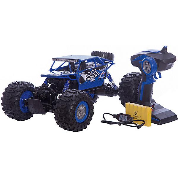Радиоуправляемая машинка Пламенный мотор Краулер-Амфибия ПМ-004, синяяРадиоуправляемые машины<br>Характеристики товара:<br><br>• возраст: от 3 лет;<br>• материал: пластик, металл;<br>• в комплекте: машина, пульт;<br>• масштаб машины: 1:12;<br>• диаметр колес: 100 мм;<br>• клиренс: 30 мм;<br>• радиус действия пульта: 50 м;<br>• время работы: 15-20 минут;<br>• время зарядки аккумулятора: 4 часа;<br>• размер упаковки: 35х25х17 см;<br>• вес упаковки: 2,16 кг;<br>• страна производитель: Китай.<br><br>Радиоуправляемая машина «Краулер Амфибия» - увлекательная игрушка на радиоуправлении, которая умеет ездить в разных направлениях, преодолевать препятствия под углом в 45 градусов.. Машинка развивает скорость до 10 км/час. Благодаря большим колесам она может ездить по любой поверхности, даже по грунту или песку. <br><br>Корпус выполнен из ударопрочного металла, что защитит игрушку от повреждений при столкновениях. Корпус машины водонепроницаемый, поэтому она умеет даже плавать по воду. Передние и задние амортизаторы защищают кузов. Благодаря большому радиусу действия пульта может использоваться также на улице.Радиоуправляемую машину «Краулер Амфибия» можно приобрести в нашем интернет-магазине.<br>Ширина мм: 350; Глубина мм: 250; Высота мм: 170; Вес г: 2160; Возраст от месяцев: 36; Возраст до месяцев: 2147483647; Пол: Мужской; Возраст: Детский; SKU: 7265521;