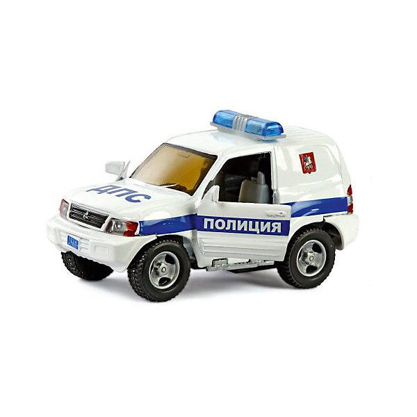 Коллекционная машинка Пламенный мотор По дорогам России Mitsubishi Полиция ДПСМашинки<br>Характеристики товара:<br><br>• возраст: от 3 лет;<br>• материал: металл, пластик;<br>• масштаб машины: 1:36;<br>• длина машинки: 13 см;<br>• размер упаковки: 16х6,5х7 см;<br>• вес упаковки: 240 гр.;<br>• страна производитель: Китай.<br><br>Машина Mitsubishi «Полиция ДПС» Пламенный мотор — машинка, выполненная в виде полицейского автомобиля. Она оснащена инерционным механизмом. У машинки открываются двери. Во время движения горят фары и раздаются звуковые сигналы. Выполнена машинка из ударопрочного металла, колеса прорезинены.<br><br>Машину Mitsubishi «Полиция ДПС» Пламенный мотор можно приобрести в нашем интернет-магазине.<br>Ширина мм: 160; Глубина мм: 65; Высота мм: 70; Вес г: 240; Возраст от месяцев: 36; Возраст до месяцев: 2147483647; Пол: Мужской; Возраст: Детский; SKU: 7265536;