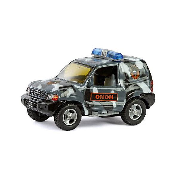Коллекционная машинка Пламенный мотор По дорогам России Mitsubishi ОмонМашинки<br>Характеристики товара:<br><br>• возраст: от 3 лет;<br>• материал: металл, пластик;<br>• масштаб машины: 1:36;<br>• длина машинки: 13 см;<br>• размер упаковки: 16х6,5х7 см;<br>• вес упаковки: 240 гр.;<br>• страна производитель: Китай.<br><br>Машина Mitsubishi «Омон» Пламенный мотор — машинка, выполненная в виде автомобиля службы Омон. Она оснащена инерционным механизмом. У машинки открываются двери. Во время движения горят фары и раздаются звуковые сигналы. Выполнена машинка из ударопрочного металла, колеса прорезинены.<br><br>Машину Mitsubishi «Омон» Пламенный мотор можно приобрести в нашем интернет-магазине.<br><br>Ширина мм: 160<br>Глубина мм: 65<br>Высота мм: 70<br>Вес г: 240<br>Возраст от месяцев: 36<br>Возраст до месяцев: 2147483647<br>Пол: Мужской<br>Возраст: Детский<br>SKU: 7265538