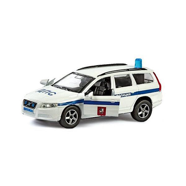 Коллекционная машинка Пламенный мотор По дорогам России Volvo V70 ДПСМашинки<br>Характеристики товара:<br><br>• возраст: от 3 лет;<br>• материал: металл;<br>• масштаб машины: 1:36;<br>• длина машинки: 13 см;<br>• размер упаковки: 16х6,5х7 см;<br>• вес упаковки: 220 гр.;<br>• страна производитель: Китай.<br><br>Машина Volvo V70 «ДПС» Пламенный мотор представляет собой копию настоящего автомобиля. У машинки открываются двери, на крыше установлена мигалка. Игрушка оснащена световыми и звуковыми эффектами, которые делают игру еще увлекательней. Выполнена машинка из прочного металла.<br><br>Машину Volvo V70 «ДПС» Пламенный мотор можно приобрести в нашем интернет-магазине.<br><br>Ширина мм: 160<br>Глубина мм: 65<br>Высота мм: 70<br>Вес г: 220<br>Возраст от месяцев: 36<br>Возраст до месяцев: 2147483647<br>Пол: Мужской<br>Возраст: Детский<br>SKU: 7265541