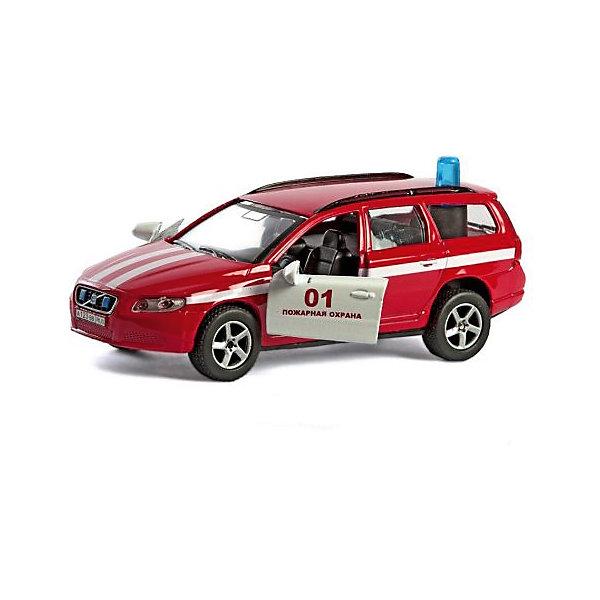 Коллекционная машинка Пламенный мотор По дорогам России Volvo V70 Пожарная охранаМашинки<br>Характеристики товара:<br><br>• возраст: от 3 лет;<br>• материал: металл;<br>• масштаб машины: 1:36;<br>• длина машинки: 13 см;<br>• размер упаковки: 16х6,5х7 см;<br>• вес упаковки: 220 гр.;<br>• страна производитель: Китай.<br><br>Машина Volvo V70 «Пожарная охрана» Пламенный мотор представляет собой копию настоящего автомобиля. У машинки открываются двери, на крыше установлена мигалка. Игрушка оснащена световыми и звуковыми эффектами, которые делают игру еще увлекательней. Выполнена машинка из прочного металла.<br><br>Машину Volvo V70 «Пожарная охрана» Пламенный мотор можно приобрести в нашем интернет-магазине.<br><br>Ширина мм: 160<br>Глубина мм: 65<br>Высота мм: 70<br>Вес г: 220<br>Возраст от месяцев: 36<br>Возраст до месяцев: 2147483647<br>Пол: Мужской<br>Возраст: Детский<br>SKU: 7265543