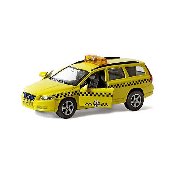 Коллекционная машинка Пламенный мотор По дорогам России Volvo V70 ТаксиМашинки<br>Характеристики товара:<br><br>• возраст: от 3 лет;<br>• материал: металл;<br>• масштаб машины: 1:36;<br>• длина машинки: 13 см;<br>• размер упаковки: 16х6,5х7 см;<br>• вес упаковки: 220 гр.;<br>• страна производитель: Китай.<br><br>Машина Volvo V70 «Такси» Пламенный мотор представляет собой копию настоящего автомобиля, стилизованного под такси. Она оснащена инерционным механизмом. У машинки открываются двери. На корпусе кнопочка, нажав на которую, раздаются звуковые сигналы. Выполнена машинка из прочного металла.<br><br>Машину Volvo V70 «Такси» Пламенный мотор можно приобрести в нашем интернет-магазине.<br><br>Ширина мм: 160<br>Глубина мм: 65<br>Высота мм: 70<br>Вес г: 220<br>Возраст от месяцев: 36<br>Возраст до месяцев: 2147483647<br>Пол: Мужской<br>Возраст: Детский<br>SKU: 7265544