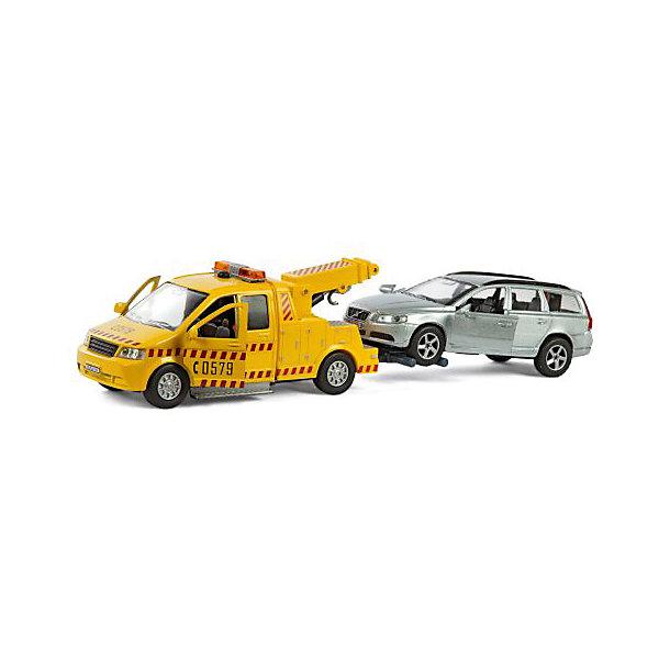 Коллекционная машинка Пламенный мотор По дорогам России Volvo Эвакуатор с машинойМашинки<br>Характеристики товара:<br><br>• возраст: от 3 лет;<br>• материал: металл;<br>• масштаб машины: 1:36;<br>• в комплекте: 2 машинки;<br>• длина машинки: 13 см;<br>• размер упаковки: 16х6,5х7 см;<br>• вес упаковки: 220 гр.;<br>• страна производитель: Китай.<br><br>Машина Volvo «Эвакуатор» Пламенный мотор выполнена в виде эвакуатора, который увозит другую машину. Она крепится к эвакуатору при помощи крепежа. Игрушка оснащена инерционным механизмом. У машинки открываются двери. Кран работает через нажатие. Выполнена машинка из прочного металла.<br><br>Машину Volvo «Эвакуатор» Пламенный мотор можно приобрести в нашем интернет-магазине.<br><br>Ширина мм: 310<br>Глубина мм: 70<br>Высота мм: 140<br>Вес г: 440<br>Возраст от месяцев: 36<br>Возраст до месяцев: 2147483647<br>Пол: Мужской<br>Возраст: Детский<br>SKU: 7265549