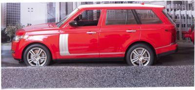 Радиоуправляемая Машинка Пламенный Мотор Превосходство Скорости , Красная