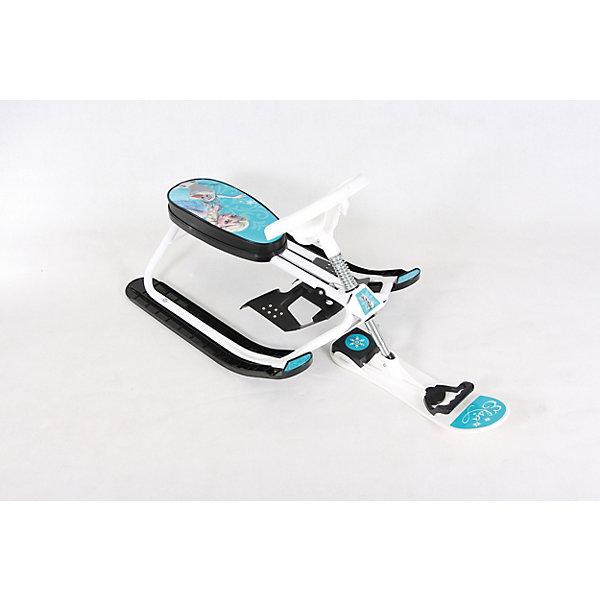 Снегокат Дэми Kiddy, Холодное сердцеСнегокаты<br>Характеристики:<br><br>• возраст ребенка: от 18 месяцев до 7 лет;<br>• грузоподъемность: не более 60 кг;<br>• растущий снегокат;<br>• устойчивость на поворотах;<br>• автоматическое скручивание буксировочного шнура;<br>• назначение: карвинг, езда на мягком и жестком склоне;<br>• регулируемый размер сиденья снегоката;<br>• снегокат легкий, ребенок сможет самостоятельно поднимать его на склон;<br>• сиденье украшено изображениями любимых героев<br>• материал: металл, углепластик;<br>• размер снегоката: 92,5х48,5х43 см;<br>• высота сиденья от земли: от 22,5 см;<br>• вес снегоката: 5 кг;<br>• размер упаковки: 49х73х31 см;<br>• вес в упаковке: 5,2 кг.<br><br>Снегокат Kiddy Dami СНК.10-03 Л предназначен для активных игр в зимний период. Легкий и маневренный, снегокат устойчив на поворотах, ребенок сам управляет транспортным средством и тащит его вверх на склон. Снегокат рассчитан на детей разного возраста: как полуторагодовалые малыши весело прокатятся с горки, так и дошкольники смогут резво рассекать и уже выделывать различные трюки верхом на металлическом коне. <br><br>Cнегокат СНК.10-03 Л «Kiddy» «Холодное сердце» можно купить в нашем интернет-магазине.<br><br>Ширина мм: 1050<br>Глубина мм: 485<br>Высота мм: 435<br>Вес г: 5000<br>Возраст от месяцев: 180<br>Возраст до месяцев: 84<br>Пол: Унисекс<br>Возраст: Детский<br>SKU: 7265651