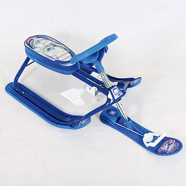 Снегокат Дэми Kiddy Super, ИнопланетянинСнегокаты<br>Характеристики:<br><br>• возраст ребенка: от 18 месяцев до 7 лет;<br>• грузоподъемность: не более 60 кг;<br>• растущий снегокат;<br>• устойчивость на поворотах;<br>• автоматическое скручивание буксировочного шнура;<br>• назначение: карвинг, езда на мягком и жестком склоне;<br>• регулируемый размер сиденья снегоката;<br>• снегокат легкий, ребенок сможет самостоятельно поднимать его на склон;<br>• сиденье украшено изображениями любимых героев<br>• материал: металл, углепластик;<br>• размер снегоката: 92,5х48,5х43 см;<br>• высота сиденья от земли: от 22,5 см;<br>• вес снегоката: 5 кг;<br>• размер упаковки: 49х73х31 см;<br>• вес в упаковке: 5,2 кг.<br><br>Снегокат Kiddy super Dami СНК.10-03 предназначен для активных игр в зимний период. Легкий и маневренный, снегокат устойчив на поворотах, ребенок сам управляет транспортным средством и самостоятельно поднимает его на склон. Снегокат растет вместе с ребенком: полуторагодовалого малыша можно посадить на снегокат как на санки, дошкольник сам съедет на снегокате с горки. <br><br>Cнегокат СНК.10-03 «Kiddy super» «Инопланетянин» можно купить в нашем интернет-магазине.<br><br>Ширина мм: 1050<br>Глубина мм: 485<br>Высота мм: 435<br>Вес г: 5000<br>Возраст от месяцев: 180<br>Возраст до месяцев: 84<br>Пол: Унисекс<br>Возраст: Детский<br>SKU: 7265654