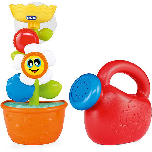 Игрушка для ванны Chicco Лейка с цветкомИгрушки для ванной<br>Характеристики:<br><br>• игрушка для купания;<br>• цветок вращается, если его полить;<br>• тип крепления: присоска;<br>• материал: пластик;<br>• размер упаковки: 9,5х21,5х10 см.<br><br>Устроить веселое купание можно с набором Chicco: наполните лейку водой, поливайте цветок, наблюдайте вращение цветка. В процессе игры развивается координация движение, наблюдательность и внимание.<br><br>Игрушку для ванны «Лейка с цветком» можно купить в нашем интернет-магазине.<br>Ширина мм: 210; Глубина мм: 100; Высота мм: 225; Вес г: 383; Возраст от месяцев: 12; Возраст до месяцев: 36; Пол: Женский; Возраст: Детский; SKU: 7265685;