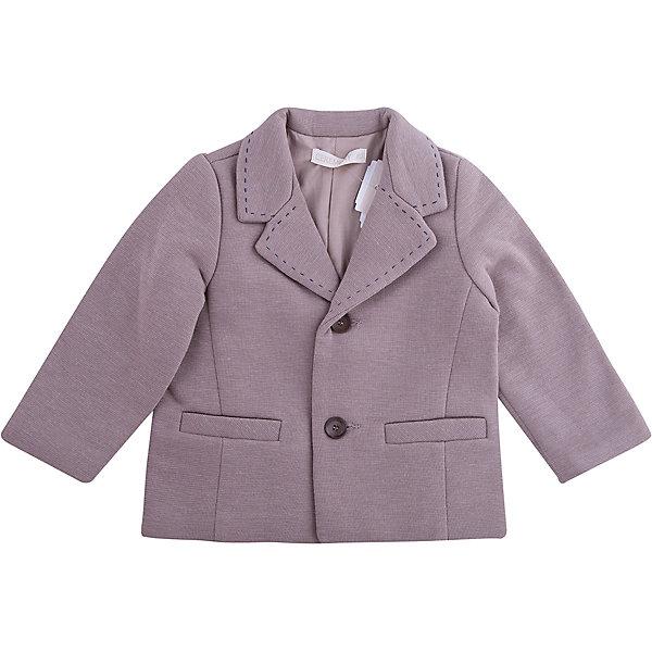 Пиджак Wojcik для мальчикаВерхняя одежда<br>Характеристики товара:<br><br>• цвет: серый<br>• состав ткани: 40% акрил, 40% шерсть, 20% полиэстер<br>• сезон: демисезон<br>• особенности модели: нарядная<br>• длинные рукава<br>• застежка: пуговицы<br>• страна бренда: Польша<br>• страна изготовитель: Польша<br><br>Стильный пиджак для мальчика от бренда Войчик легко надевается благодаря пуговицам. Этот пиджак с двумя карманами спереди, сделан из качественного материала. Популярный бренд Wojcik - это польская детская одежда отличного качества по доступной цене. <br><br>Пиджак Wojcik (Войчик) для мальчика можно купить в нашем интернет-магазине.<br>Ширина мм: 190; Глубина мм: 74; Высота мм: 229; Вес г: 236; Цвет: коричневый; Возраст от месяцев: 24; Возраст до месяцев: 36; Пол: Мужской; Возраст: Детский; Размер: 98,80,86,92; SKU: 7266256;