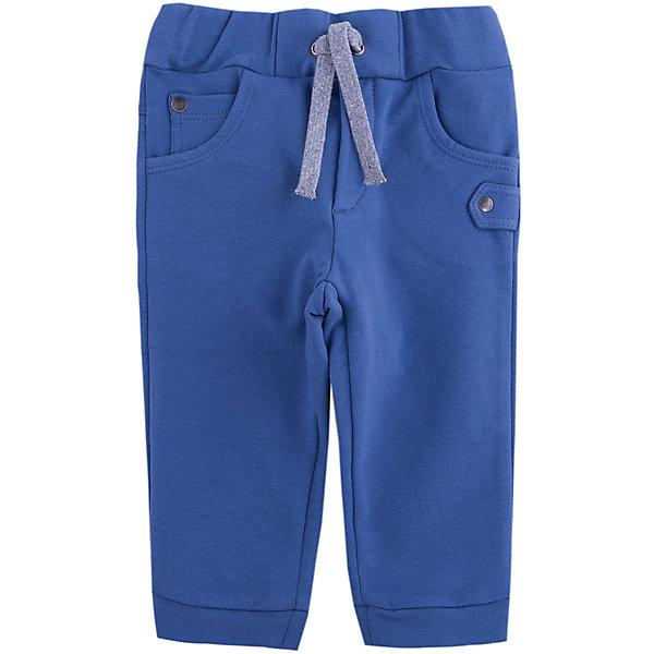 Брюки Wojcik для мальчикаБрюки<br>Характеристики товара:<br><br>• цвет: синий<br>• состав ткани: 97% хлопок, 3% эластан <br>• сезон: демисезон<br>• особенности модели: спортивный стиль<br>• пояс: резинка, шнурок<br>• страна бренда: Польша<br>• страна изготовитель: Польша<br><br>Спортивные штаны для мальчика Wojcik комфортно сидят по фигуре. Эти детские штаны дополнены шнурком в мягком поясе. Спортивные штаны для детей - дышащие и комфортные. Одежда для детей из Польши от бренда Wojcik отличается хорошим качеством и стилем. <br><br>Брюки Wojcik (Войчик) для мальчика можно купить в нашем интернет-магазине.<br>Ширина мм: 215; Глубина мм: 88; Высота мм: 191; Вес г: 336; Цвет: синий; Возраст от месяцев: 24; Возраст до месяцев: 36; Пол: Мужской; Возраст: Детский; Размер: 98; SKU: 7266603;