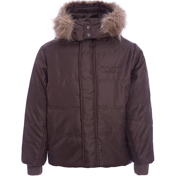 Куртка Wojcik для мальчикаВерхняя одежда<br>Характеристики товара:<br><br>• цвет: коричневый<br>• состав ткани: 100% полиэстер<br>• подкладка: 100% полиэстер<br>• утеплитель: 100% полиэстер<br>• сезон: демисезон<br>• температурный режим: от -10 до +10<br>• особенности модели: с капюшоном<br>• застежка: молния<br>• длинные рукава<br>• страна бренда: Польша<br>• страна изготовитель: Польша<br><br>Коричневая куртка для мальчика от Войчик дополнена капюшоном. Детская куртка удобно застегивается. Утепленная куртка для детей выполнена в модной практичной расцветке. Польская детская одежда для детей от бренда Wojcik - это качественные и стильные вещи. <br><br>Куртку Wojcik (Войчик) для мальчика можно купить в нашем интернет-магазине.<br>Ширина мм: 356; Глубина мм: 10; Высота мм: 245; Вес г: 519; Цвет: коричневый; Возраст от месяцев: 84; Возраст до месяцев: 96; Пол: Мужской; Возраст: Детский; Размер: 128; SKU: 7266661;